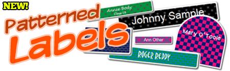 Patterned Labels