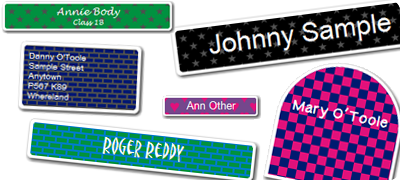 Order Patterned Labels