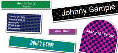 Order Patterned Labels