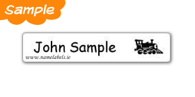 Stick-on Name Labels Sample